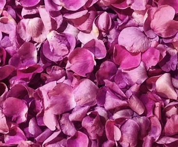 image full of pink rose petals